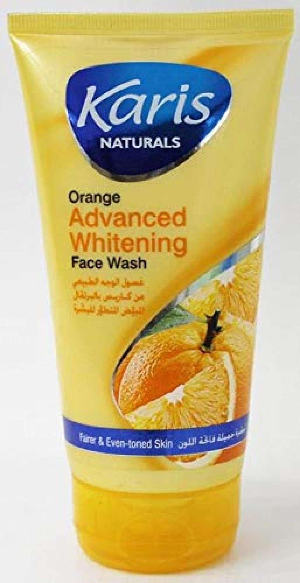 غسول الوجة بالبرتقال المبيض المتطور -كاريس