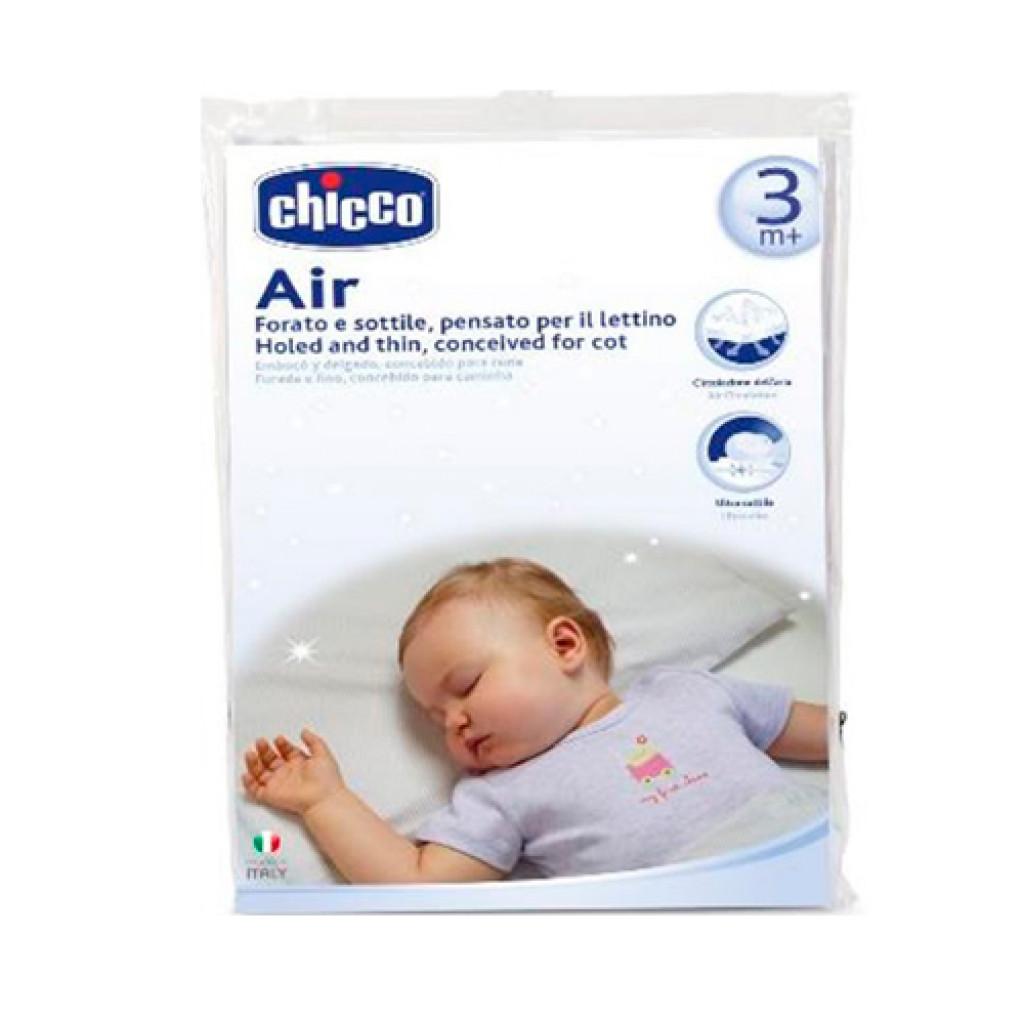 شيكو وسادة قطنية 100% لسرير الاطفال