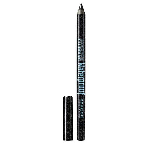 قلم تحديد العين كونتور كلابينج المقاوم للماء من بورجوا ، محدد عيون وظلال عيون 48 أتوميك بلاك ، 1.2 جم