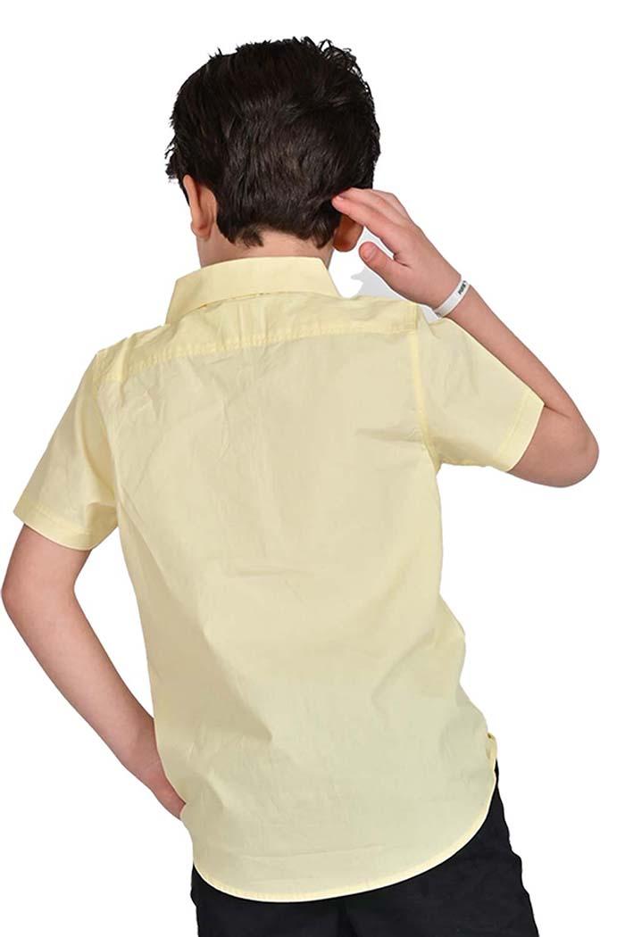 قميص اولاد لون اصفر