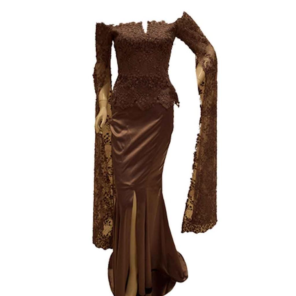 فستان تفته كم شالات دتنيل
